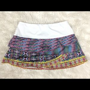 Lucky in Love Small Tennis Skirt Skirt colorful